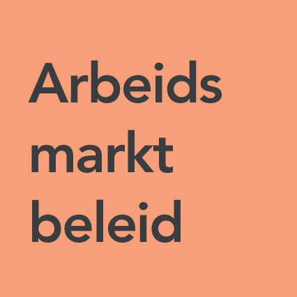 Categorie Arbeidsmarktbeleid