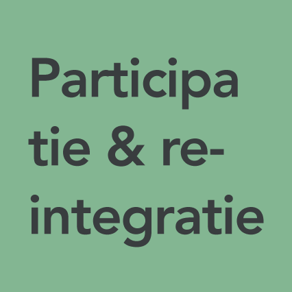 Categorie Participatie & re-integratie